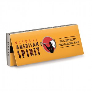 NATURAL AMERICAN SPIRIT Hanf Standard Regular Size Papers, Heftchen einzeln
