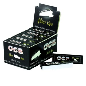 OCB Filter Tips, 25er Box
