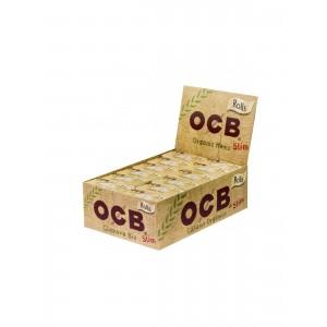 OCB Organic Slim Rolls 4 m Endlospaper 24er Box