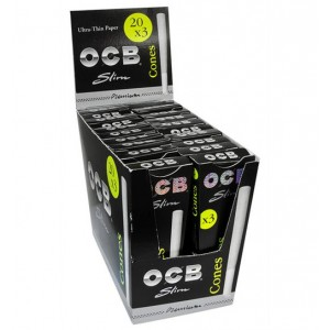 OCB Premium Slim Cones, 20er Box