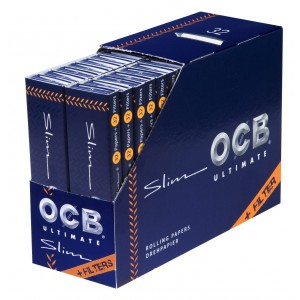 OCB Ultimate Slim Papers + Tips, Heftchen einzeln