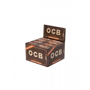 OCB unbleached Virgin Rolls + Tips, 16er Box