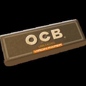 OCB unbleached Virgin Single Papers, 50er Box