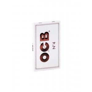 OCB Weiß Double Papers kurz N 4, Heftchen einzeln