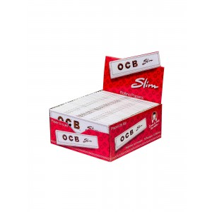 OCB Weiß Slim Long Papers, 50er Box