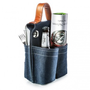Fahrradtasche Picnic for 2 Denim (Donkey Products)