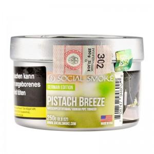 Social Smoke Shishatabak 250 g PISTACH BREEZE