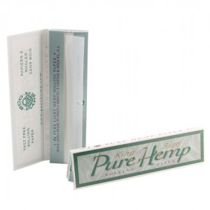 Pure Hemp King Size Papers, Heftchen einzeln