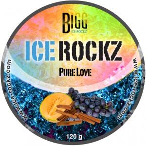 BIGG ICE ROCKZ Pure Love, 120 g Shisha Dampfsteine