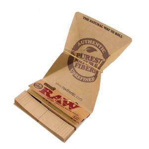 RAW Artesano 1 1/4 Papers + Tips + Drehunterlage, Heftchen einzeln