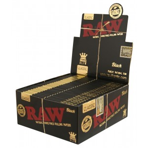 RAW Black King Size Slim, 50er Box