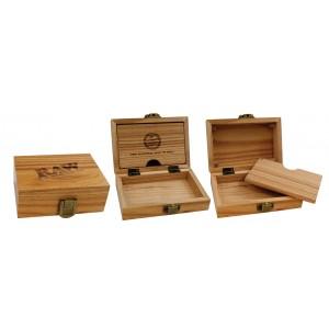 RAW Wooden Box, Aufbewahrung