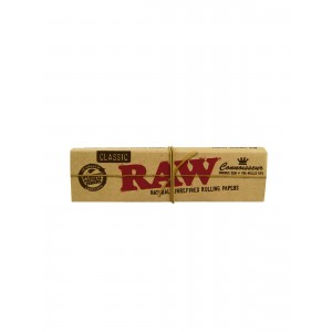 RAW Connoisseur King Size slim + prerolled Tips