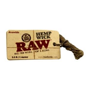 RAW Hemp Wick 100 cm