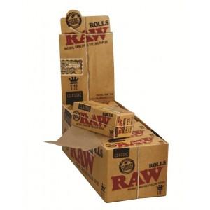 RAW Classic King Size Rolls 3 m, 12er Box