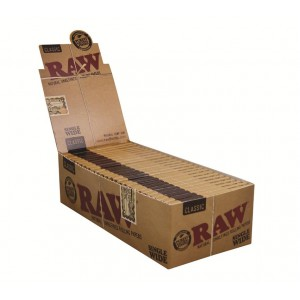 RAW Classic Single Wide Double Papers, 25er Box