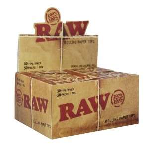 RAW Regular Tips, 50er Box