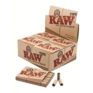 RAW Prerolled Tips (vorgerollt), 20er Box