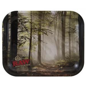 RAW Metal Rolling Tray Forest Drehunterlage - medium