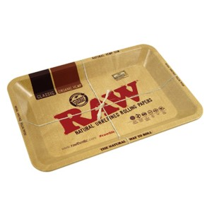 RAW Metal Rolling Tray Drehunterlage - mini