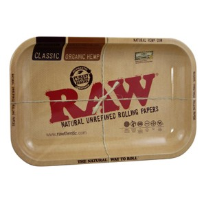 RAW Metal Rolling Tray Drehunterlage - small