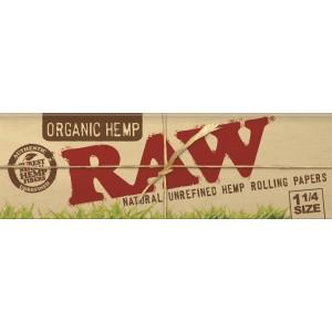 RAW Organic 1 1/4  Papers, Heftchen einzeln