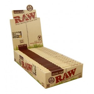 RAW Organic 1 1/4 Papers, 24er Box