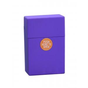 Zigaretten Click Box Neonlila (Rubbertouch)