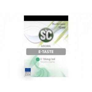 SC Liquids E-Taste