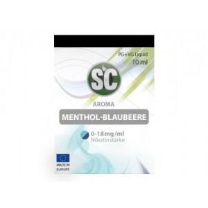 SC Liquids Menthol - Blaubeere