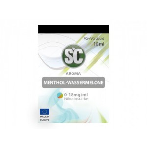SC Liquids Menthol - Wassermelone