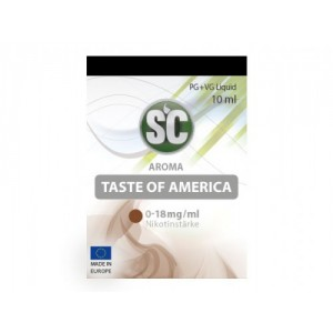 SC Liquids Taste of America Tabak