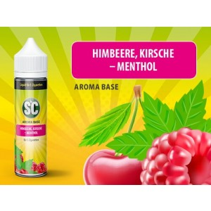 SC Vape Base - Himbeere, Kirsche-Menthol 50 ml - 0 mg