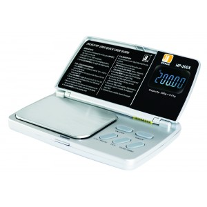 Digitale Taschenwaage HP-200X 200 g x 0,01 g (Jennings Scale)