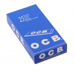 OCB Blau Single Papers, 25er Box