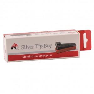 Gizeh Silver Tip Boy Filterhülsen-Stopfgerät