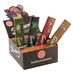 Smoking Kukuxumusu King Size Slim Papers, 50er Box
