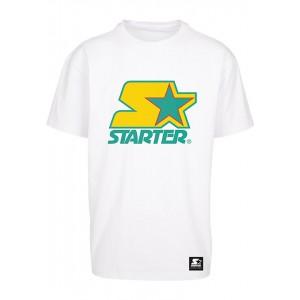 Starter Colored Logo Tee weiß-gelb-grün