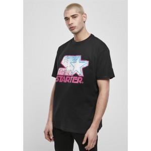 Starter Multicolored Logo Tee schwarz-pink