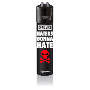 CLIPPER Feuerzeug Statement #6 - Haters