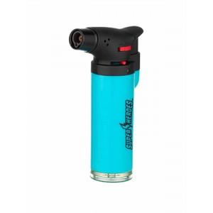 Super Heroes Torch-Feuerzeug mit blauer Flamme cyan