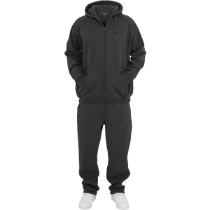 URBAN CLASSICS Blank Suit Jogging-Anzug charcoal