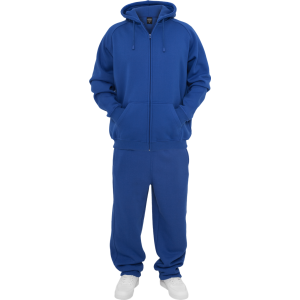 URBAN CLASSICS Blank Suit Jogging-Anzug royal-blau