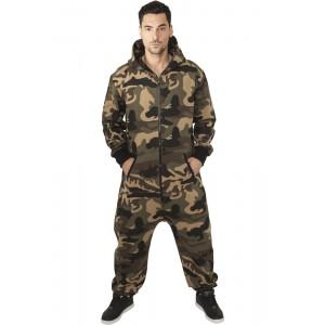 URBAN CLASSICS Jumpsuit Einteiler Camouflage