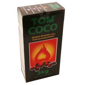 TOM Cococha grün, Kokoskohle 3 kg