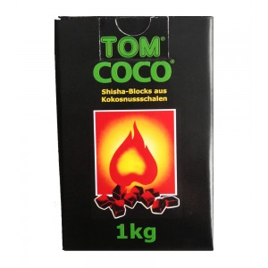TOM Cococha grün, Kokoskohle 1 kg