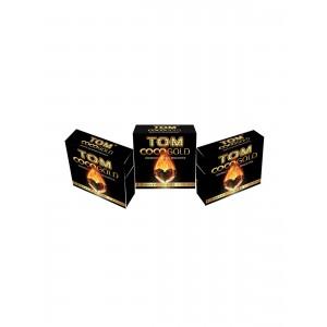 TOM Cococha Gold 9 er Packung Kokoskohle-Würfel