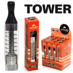 VIVO Tower Ersatz-Atomizer 2,4 ml