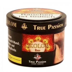 True Passion Okolom Red Shisha Tabak 200 g Dose inkl. Liquid 20 g