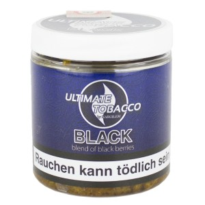 Ultimate Tobacco - Black 150 g - Blend of black berries